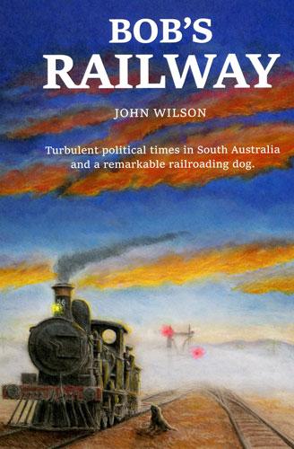 Bob's Railway Book Cover Artwork by Sarlines Books
