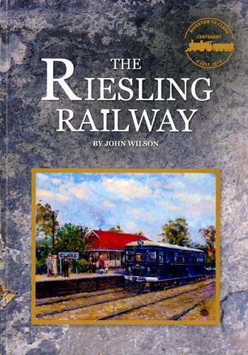 The Riesling Railway Book Cover Artwork by Sarlines Books